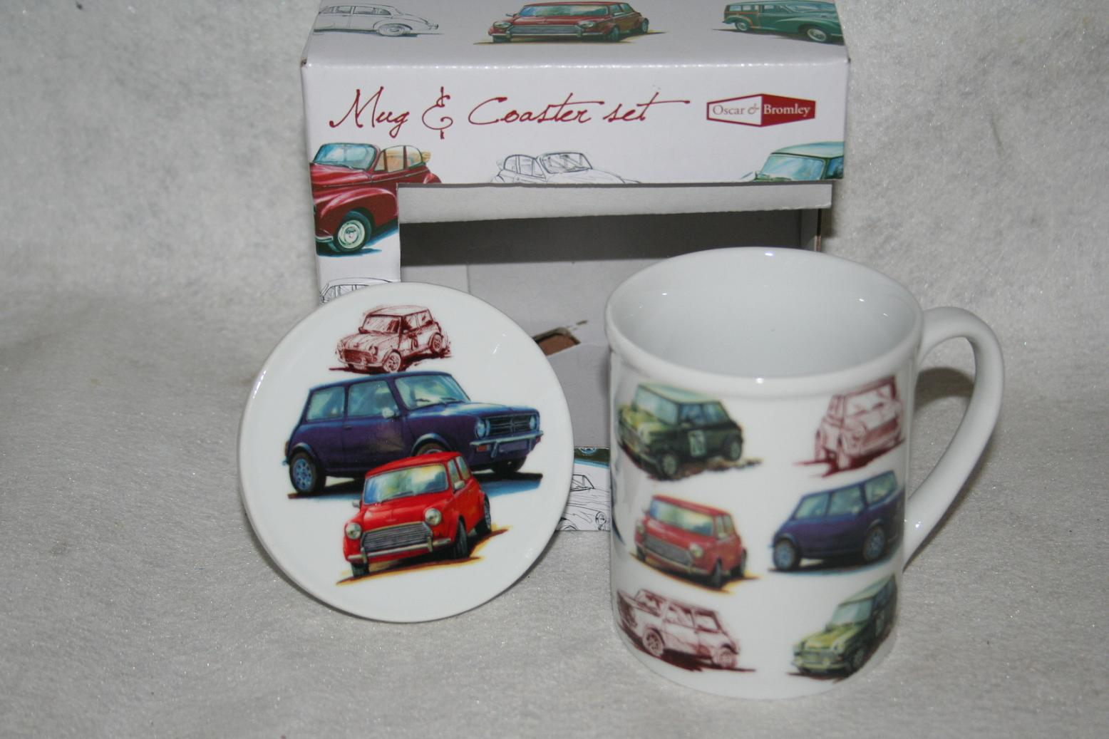 Classic Mini Mug & Coaster Set