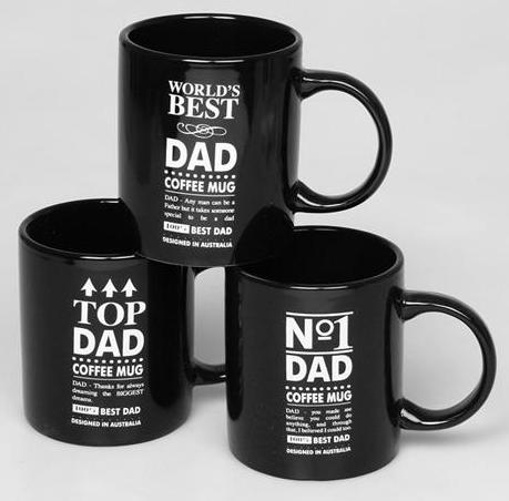 No 1 Dad Coffee Mug 3 Styles Available Fathers Day Gift