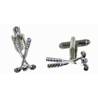 Sports Theme  Cufflinks -Darts, Golf, Dumbells